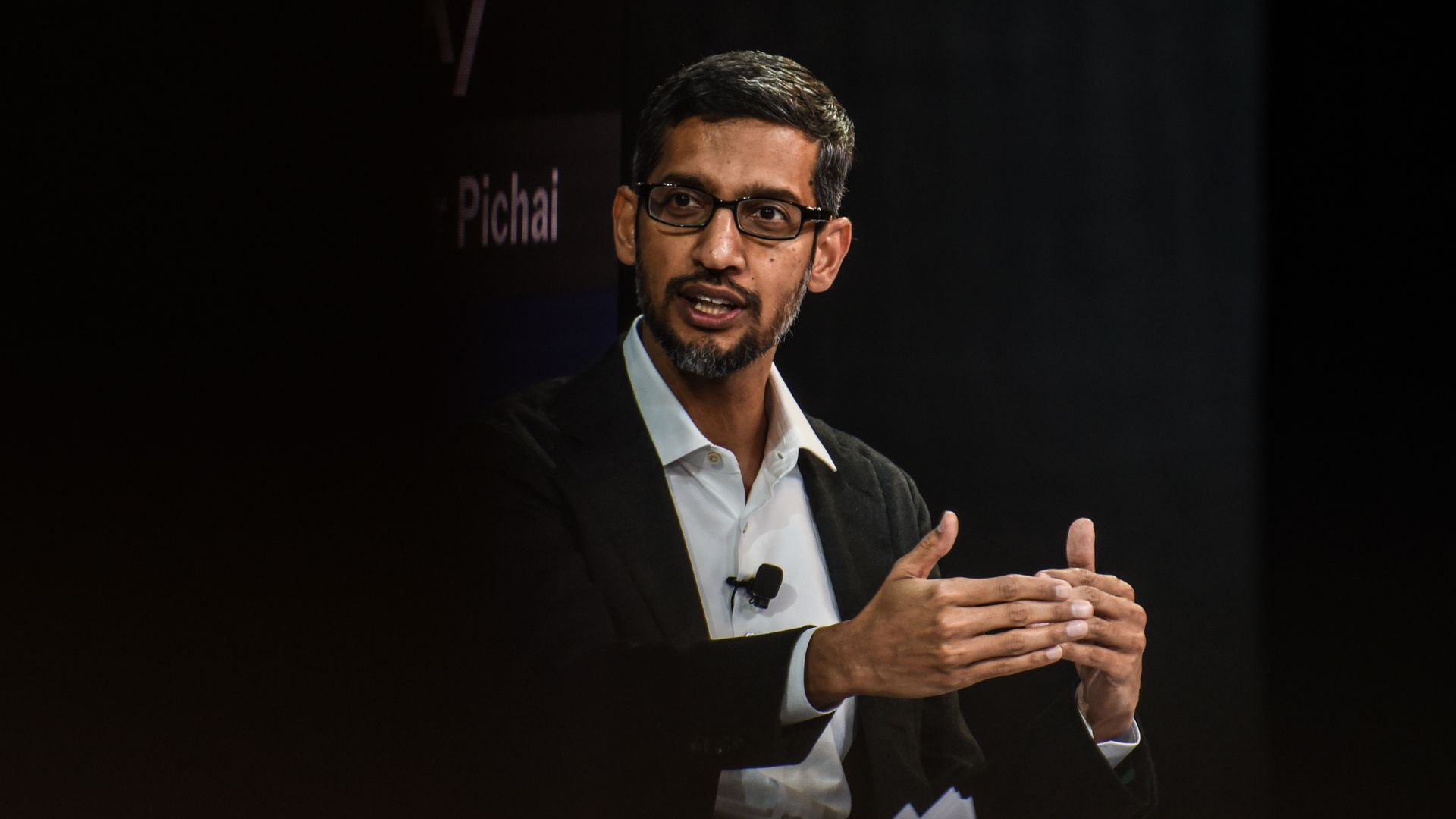 Google CEO Pichai Calls For A More Global Internet Amid India's Data Protection Push