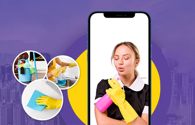 How on-demand cleaning service mobile app benefits this business domain?