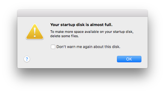 How to Fix Startup Disk is Full Error on Your Mac