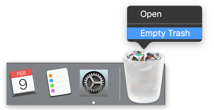 How to Force Empty Trash in OS X
