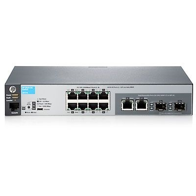 A Brief Introduction of HP 2530-8G Switch
