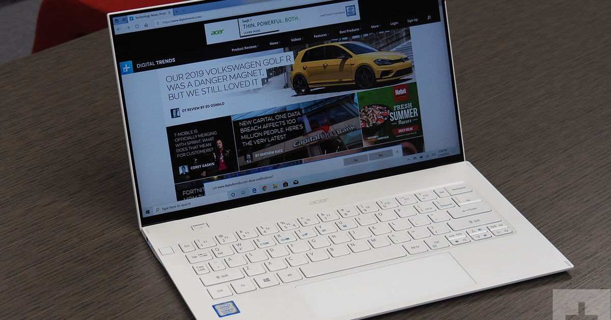 Acer Swift 7 review: Thinness above all else demands many compromises
