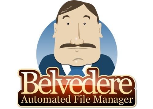 Automatically Clean Your Computing Clutter with Belvedere