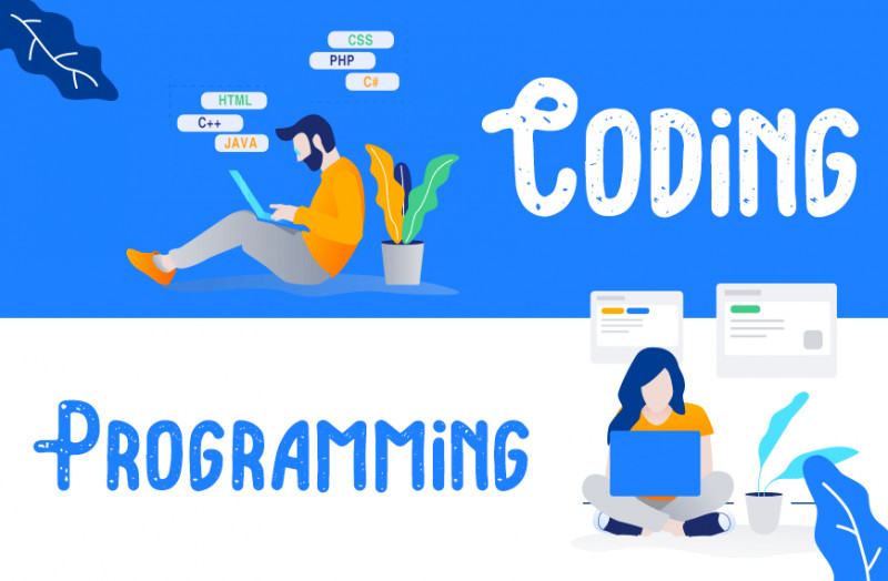 What is the difference between Coding and Programming?