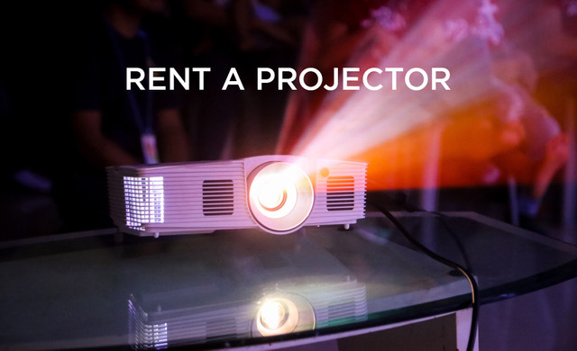 You Must Rent A Projector For Your Event