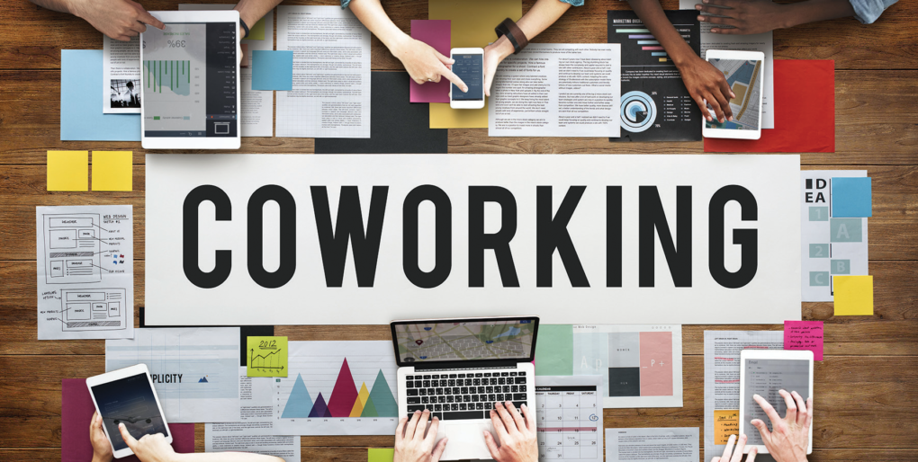 How does the coworking space benefit the local economy