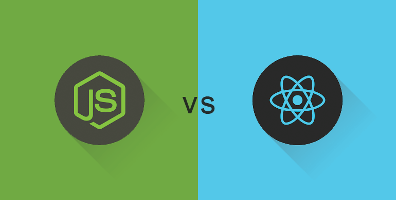 What is difference between Node.js and ReactJS?