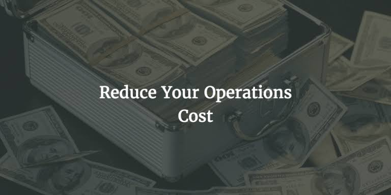 How to Reduce Operating Costs of your SMB