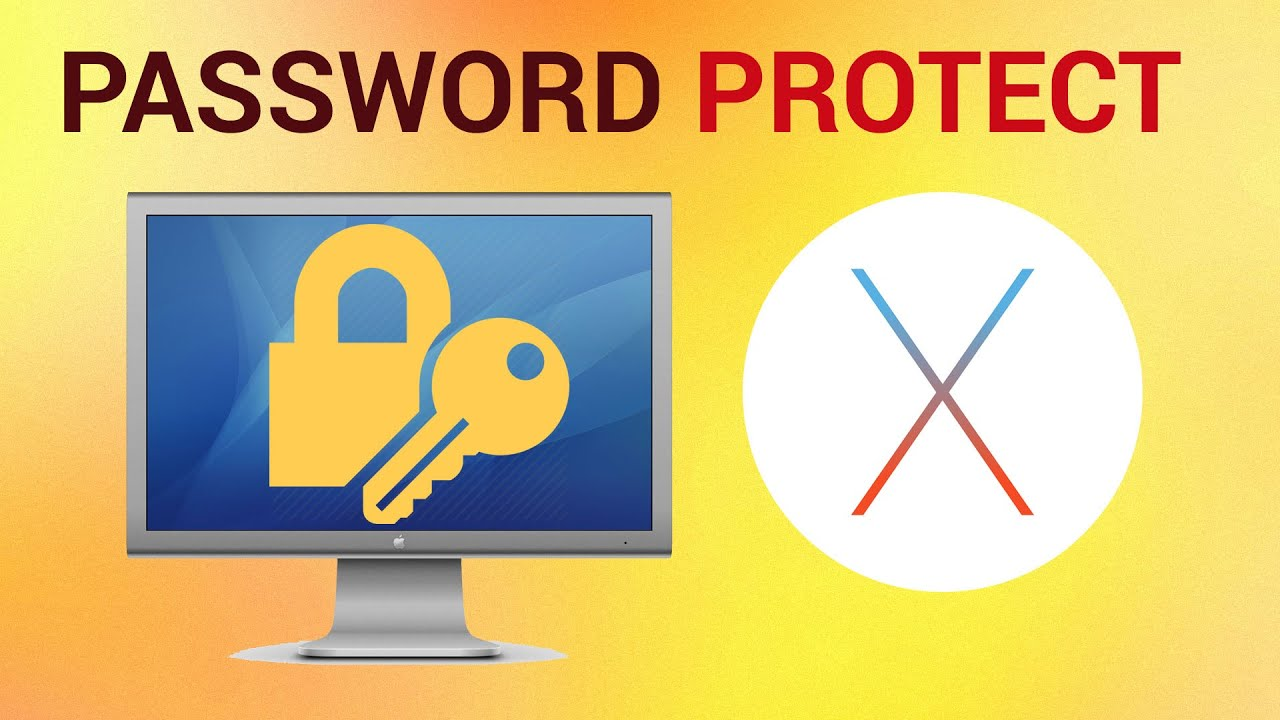 How to Set a Screen Saver Password on Mac