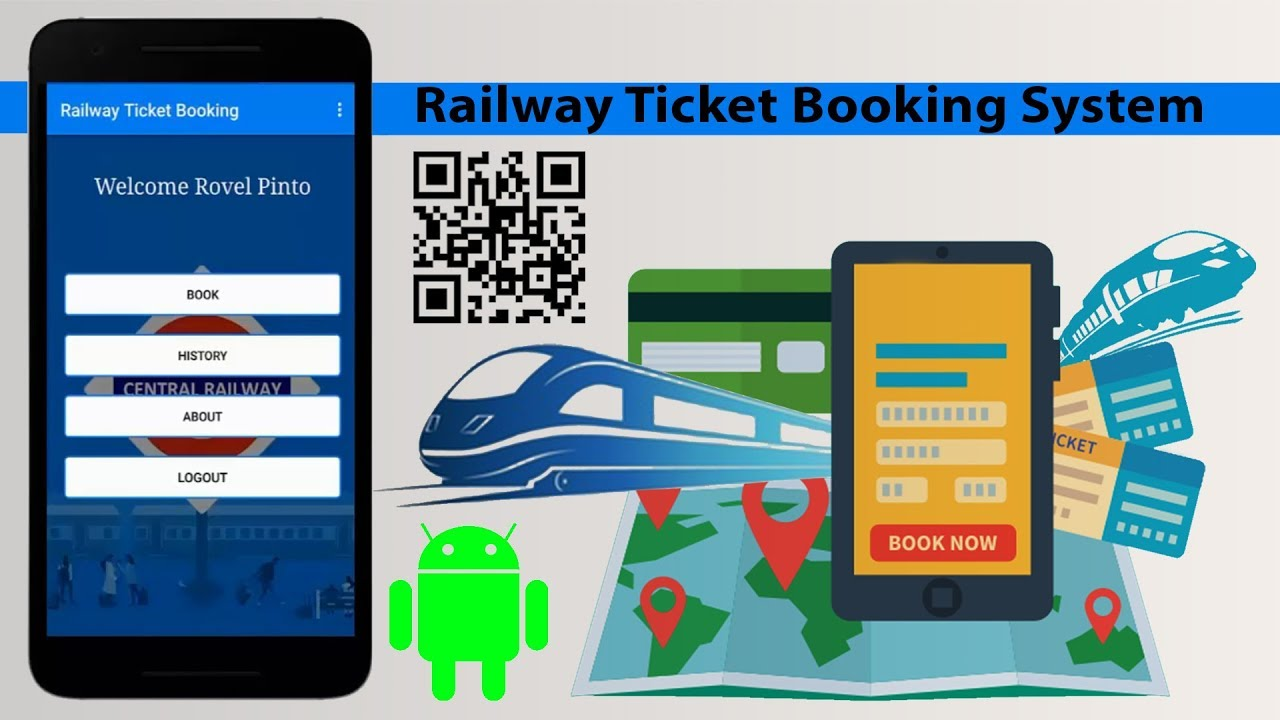 Indian Railways Now Enables QR-Code Based Ticket Booking