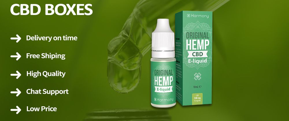 CBD Packaging Boxes: Ideal for Giving a Boost to Product Appeal in 2021