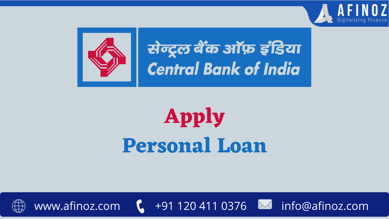 Central Bank of India is One of the Best Options for a Personal Loan