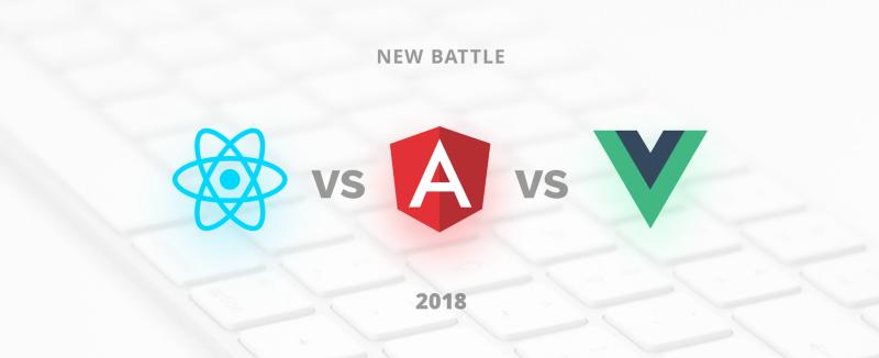 What you pick in 2018 : ReactJS vs AngularJS vs VueJS