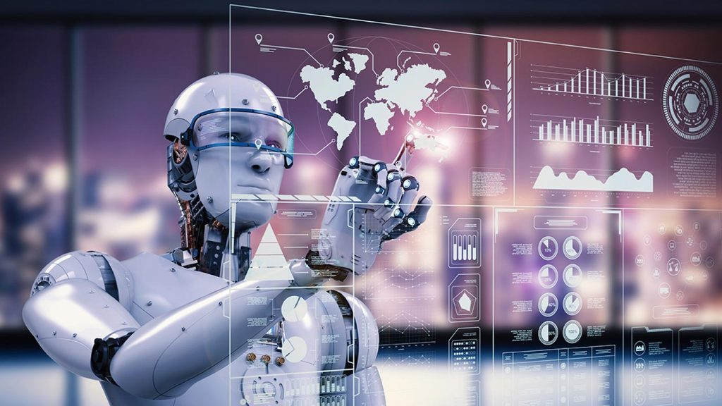 What differentiates Robotics from artificial intelligence?