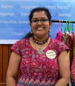 """""""Without those encouraging words, Aarika would have never been here"""" – Bharathi, Owner of Aarika Fashions : Online apparel store"""