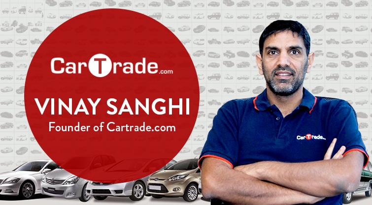 Vinay Sanghi Founder of CarTrade.com!