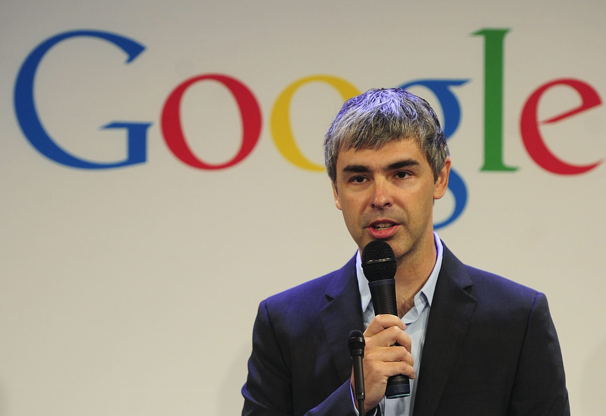 Larry Page: Google Co-Founder And Former CEO Of Alphabet