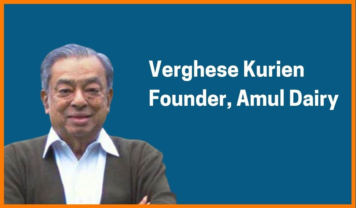 Verghese Kurien: Founder of Amul Dairy