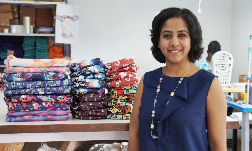 Working in MNCs & MBA from Yale has nothing in common with my business – Anuradha, Founder of Bumpadum cloth Diapers