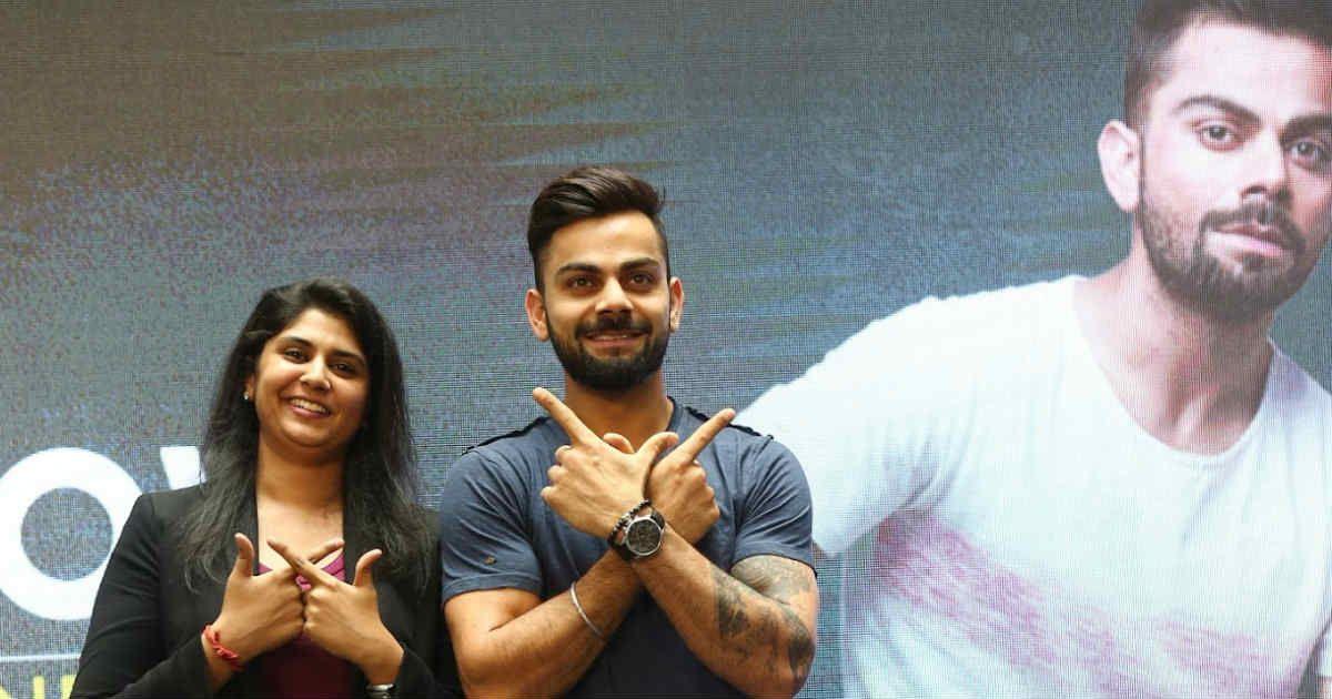 Anjana Reddy goes all WROGN with Virat Kohli to pocket Rs 100 crore